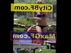 Bar Refaeli Bikinis in Italy With Her Boyfriend David Fisher paparazzi sexy