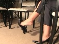 Shoeplay at its best 69