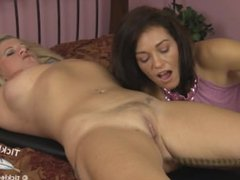 Milf Mona is both captivating and ticklish