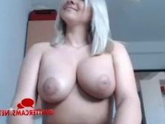 Big Tits British Blonde Babe Does Sexy Tease