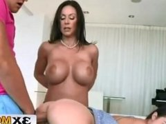 Big Tit Mom Punishes Daughter By Fucking