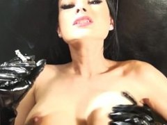 Smoking Fetish- hot smoking sex in PVC-Abbie