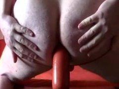 Big sausage in ass