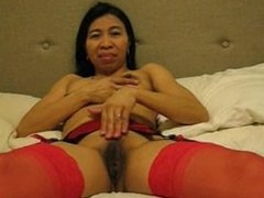 Asian cuckolds hubby licks studs spermload and swallows it