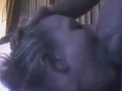 My first video, sucking a stranger and gagging on his cock and cum.