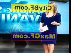 Sexy booty weather girl
