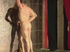 StockBar - Male striipers for gay men - Josh & Spencer - Shower show