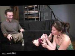 ticklish irst date