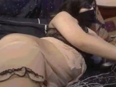 Filthy Morocco Whore Show Boobs on Cam (S3odyah Kash5A )
