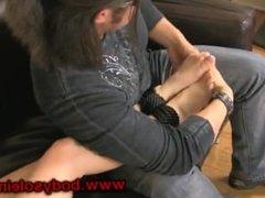 tickle foot worship