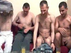 Hardcore bareback gay orgy