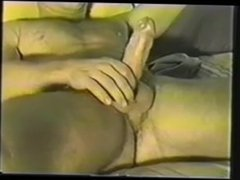 Str8 Blonde Hung Marine JO & Cums