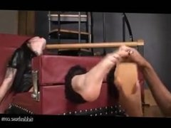 Tickle abuse - Gothic girl tickled 2