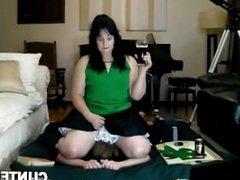 Femdom wife facesitting