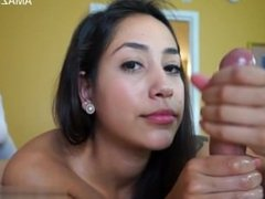 Horny daughter hard anal pounding