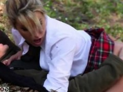 Anna Polina Nasta Zya Anna and Nasta Zya hard fuck with the gardener
