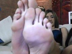3 sexy girls feet