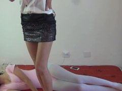 chinese tianer lulu socks trample