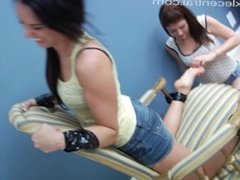 Lea Chairtied Tickling