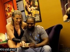 Stripper Sluts Sara Jay and Ava Devine Fuck Black Cock!