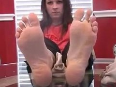 Brittany Sweet Stink Feet In Your Face