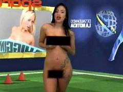Venezuelan Soccer Sports Anchor