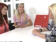 She Made Us Lesbians - Gloria and her redhead friend