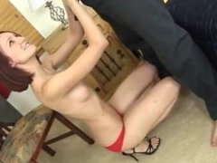 Kyra Steele gets down to some serious ass licking
