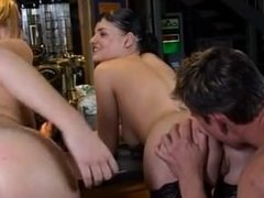 British slags tease with toys & suck off lucky lad