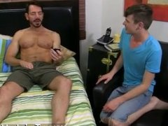 Gay video Although muscle daddy Bryan Slater doesn't normally hook up