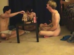 Gay fuck Trace and William get together with their new mate Austin for