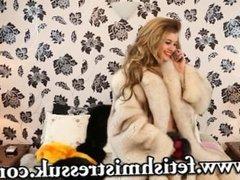 Brook Logan phone Sex Fur coat fur fetish