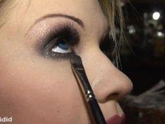 Bibi Noel in Shisha Bar - photoshooting Backstage / Werk clip