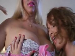 Karen Fisher and Krissy Lynn Big Titty Worship