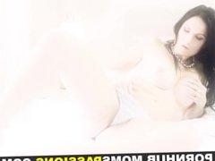 Moms Passions - Busty mom enjoys dildo fuck