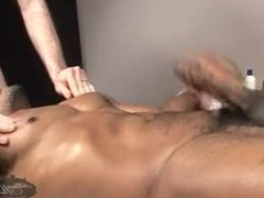 Massage- Barrett Long fucks Eddie Diaz