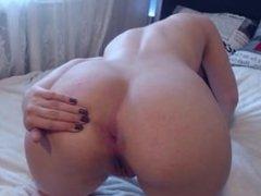 pawg redhead asshole teasing