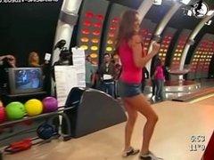 maribel baila con escote