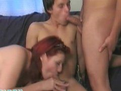 Bisexual Threesome Loves Sucking