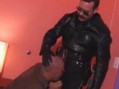 Cigar smoking cop breeds daddy