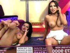 Sin TV Jada and Dionne Mendez Feet