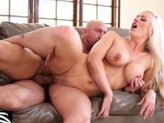 Blonde MILF gets a revenge fuck on her cheating husband