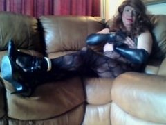 Body stocking J.O. and squirt