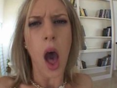 Close up reverse cowgirl 2