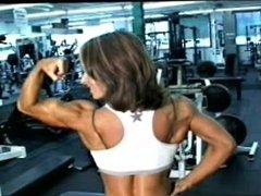 Jodi Miller Flexing