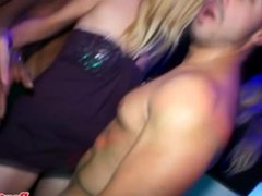 Jizzed on amateur eurobabes partying hard
