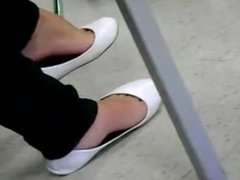 Two Pairs Of Flats Dangle
