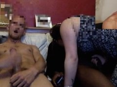 Threesome with Gf and mate