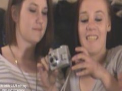 two teens stuff flashers ass