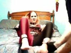 Harley Queen Homemade Little Tickle